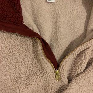 Old Navy Tops - Super soft half zip sweater